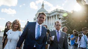 Kleine Revolte in Washington: US-Senator rechnet mit Trump ab und opfert Posten