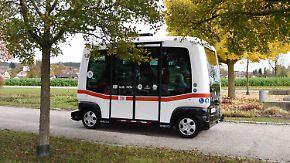 Mit 15 km/h durch Bad Birnbach: Bahn setzt ersten autonomen Bus im Nahverkehr ein