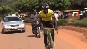 Vom Fahrradkurier zum Olympiasieger?: Junger Ugander will Chris Froome Konkurrenz machen