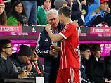Kann er zaubern? Jupp Heynckes, hier mit Robert Lewandowski.