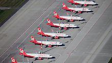 Zukunft ungewiss: Air Berlin stellt Hunderte Mitarbeiter frei