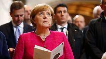 """500 Jahre Reformation: Merkel: Toleranz ist """"die Seele Europas"""""""