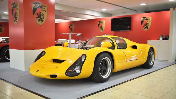 In den 1960er-Jahren sorgte der Porsche 910 auf den Rennstrecken dieser Welt für Aufsehen.