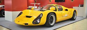 In den 1960er-Jahren sorgte der Porsche 910 auf den Rennstrecken dieser Welt für Furore.