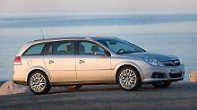 Vor allem als Caravan bietet der Opel Vectra Platz ohne Ende