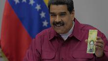 Kampf gegen Hyperinflation: Venezuela führt 100.000-Bolivar-Schein ein
