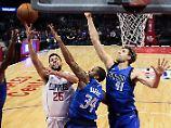 Schlechteste Teams der NBA: Für Nowitzki und Schröder hagelt's Pleiten