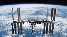 Raumstation feiert 17. Jahrestag: ISS-Flugbahn wird um 700 Meter verändert