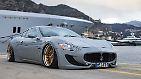 Gar nicht retro ist der Maserati Granturismo. Sein herausragendes Tuning-Merkmal dürften dann aber auch die ...