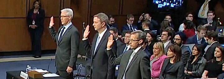 Fake News bei US-Präsidentschaftswahl: Kongress knüpft sich Facebook, Google und Twitter vor