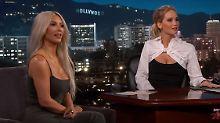 Girls-Talk für Fortgeschrittene: JLaw quetscht Kim Kardashian aus