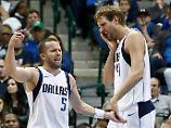 Wieder Niederlagen in der NBA: Nowitzki und Schröder verlieren und verlieren
