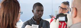 Tag 9: Flüchtlinge stoßen in Italien auf Verachtung