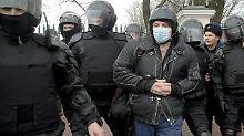 Zahlreiche Verhaftungen: Russland geht gegen Nationalisten vor