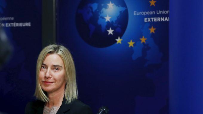 Die EU-Außenbeauftragte sieht die Entwicklung zwischen den Golfmächten mit Sorge.