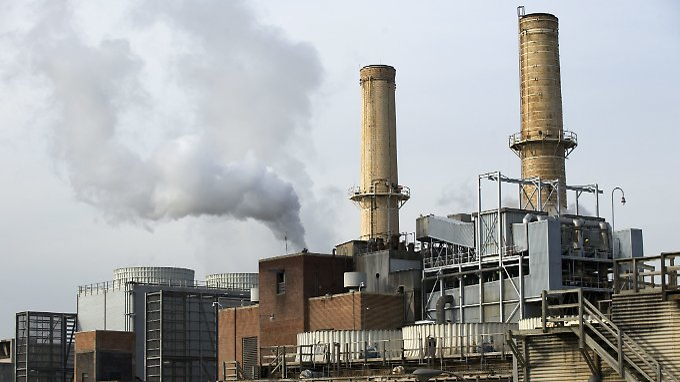 Kohlekraftwerk in der Nähe von Washington: Die USA wollen aus dem Pariser Klimaabkommen aussteigen, sobald sie berechtigt sind, dies zu tun.