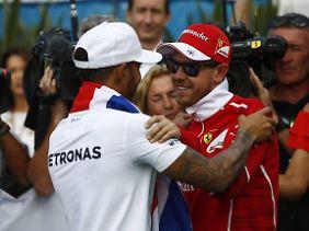 Sebastian Vettel ist ein fairer Verlierer.
