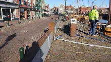 Selbst schließende Flutkehrung: Holland präsentiert neuen Kevlar-Deich