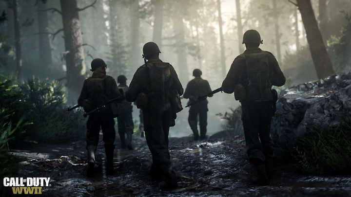 """Einer für alle: """"CoD: WWII"""" erinnert an """"Band of Brothers"""""""