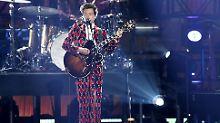 Das große Kreischen: Harry Styles kann's auch allein