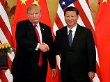 """Trumps """"Staatsbesuch-Plus"""": USA und China schließen Milliardenverträge"""