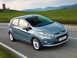 Mit Blick auf die neueren Modelle sieht selbst der Fiesta von 2008 nicht alt aus.