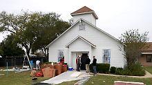 Blutbad in Sutherland Springs: Pfarrer will Kirche abreißen lassen