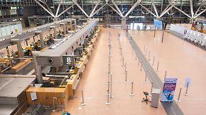 Flüchtige Personen auf dem Rollfeld: Hamburg sperrt Flughafen für eine Stunde