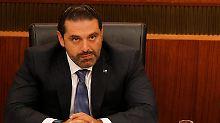 Ex-Staatschef unter Hausarrest?: Libanon: Hariri wird in Riad festgehalten