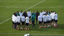 Der Sport-Tag: DFB-Kick im Wembley und WM-Playoffs - das wird wichtig