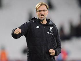 Jürgen Klopp hat offenbar nach wie vor das Meisterschaftsziel mit dem FC Liverpool fest vor Augen.