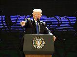 Zusammen oder jeder für sich: Trump und Xi stellen Asien vor die Wahl