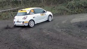 Rallye-Training in der Eifel: Der richtige Drift will gelernt sein