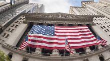 Entlastungen erst 2019?: Steuer-Hängepartie bremst Wall Street