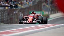 Qualifying beim GP in Brasilien: Bottas fährt vor Vettel auf die Pole
