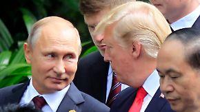 Putin bestreitet Einmischung in Wahlkampf: Trump stellt sich hinter US-Geheimdienste