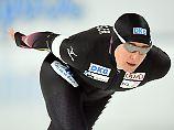 Der Sport-Tag: Pechstein knackt halbe Olympia-Norm