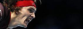 Becker, Stich - und nun ...?: Zverev gewinnt Auftaktmatch bei ATP-Finale