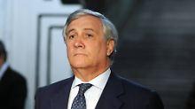Tajani fordert doppeltes Budget: Parlamentspräsident wirbt für EU-Steuer