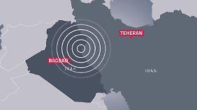 Das Beben hatte eine Stärke von 7,3 auf der Richtersskala.