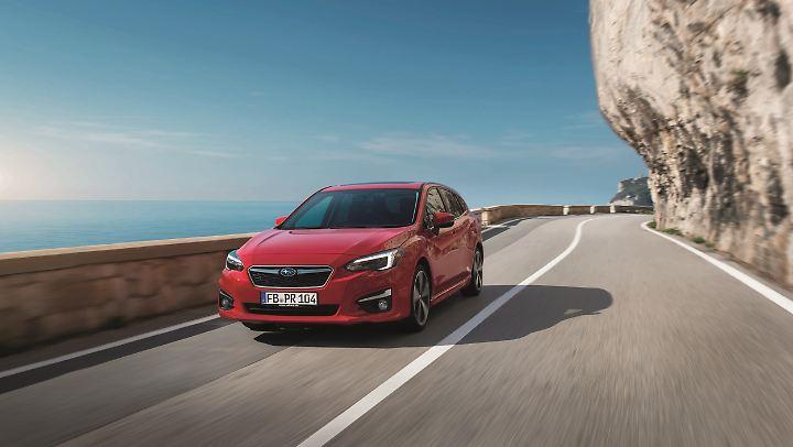 Der Allradantrieb ist auch beim neue Subaru Impreza Serie.