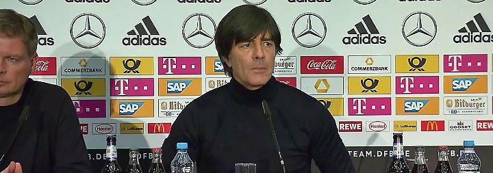 """Löw vor dem Frankreich-Test: """"Wird viel gefährlicher als England"""""""
