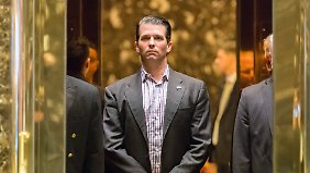 Die Nachricht ist heikel: Trumps ältester Sohn tauschte sich während des Wahlkampfs mit Wikileaks aus.