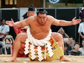 Der vermeintliche Übeltäter Harumafuji Kohei.