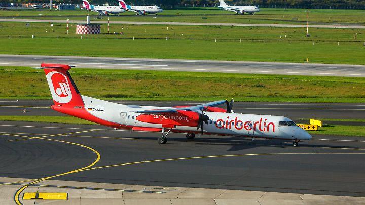 Ende Oktober stellte Air Berlin den Flugbetrieb ein.