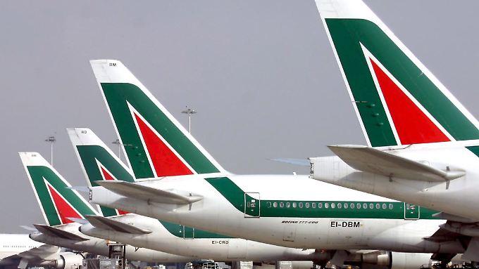 Alitalia wird derzeit von der italienischen Regierung gestützt.