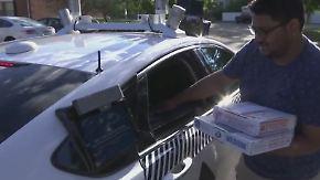 Testprojekt in den USA: Wenn das Auto die Pizza liefert
