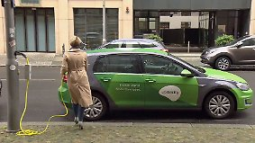Strom aus der Laterne: Siemens steigt ins Ladenetz-Rennen ein