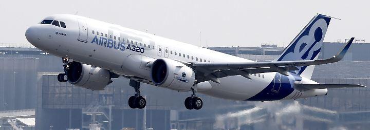 430 Maschinen bestellt: Airbus landet Milliardendeal