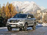 Der SsangYong Rexton ist um 8,5 Zentimeter gewachsen und schließt damit in die Liga der Full-Size-SUV auf.